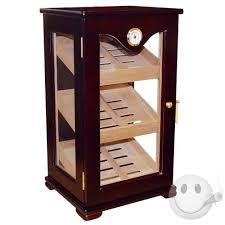 cigar humidor display cabinet desktop vertical display humidor cigars international