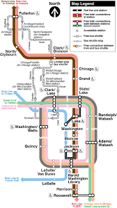 The Loop Chicago Map by Cta Customer Alert Details