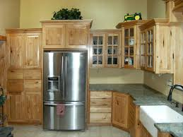 Rustic Maple Kitchen Cabinets Hickory