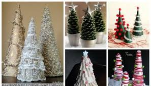 miniature christmas trees mini christmas trees diy alldaychic