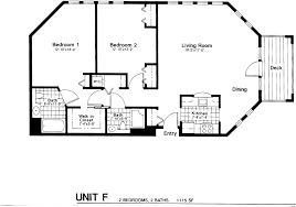 One Bedroom Apartment Floor Plans by About Our Apartments Penobscot Shores