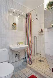 small apartment bathroom decorating white ceramic subway tile