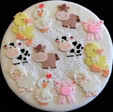 cowboy cake topper farm animal cake topper farm cake topper cowboy cake farm baby