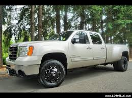 2008 gmc sierra 3500 slt 4x4 dually turbo diesel duramax for sale