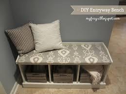 diy entryway bench chad and elana frey diy entryway bench