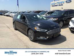 awd ford fusion 2017 ford fusion se awd 4 door car in winnipeg 17p0t04 mid