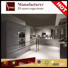 Shaker Style Kitchen Cabinets Manufacturers Italian Shaker Style Fiber Kitchen Cabinet Furniture Glass Doors