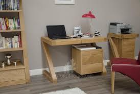 z solid oak designer small computer desk furniture4yourhome