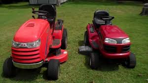simplicity vs basic riding mower youtube