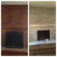 17 best ideas about white washed fireplace on pinterest brick