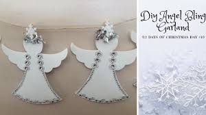 dollar tree angel bling garland 12 days of christmas crafts day