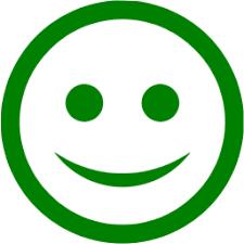happy green color green happy icon free green emoticon icons