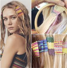boho hair wraps trend to try hair tapestries girlslife