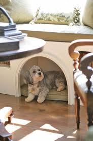 dog bed pet bed built in window seat bench under seat in