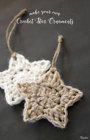 crochet star pattern christmas ornaments darice crochet stars