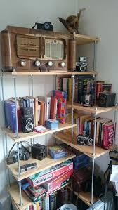 Rek Bookcase Threaded Rod Bookcase 3 Steps