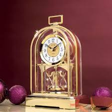 Amazon Mantle Clock Swarovski Mantle Clock Amazon Co Uk Kitchen U0026 Home