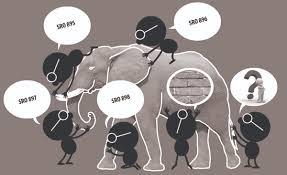 Blind Man And Elephant Sros Cartoons