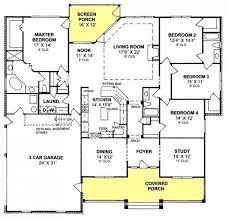 open floor plans with four bedrooms