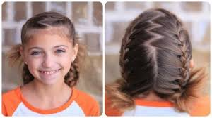 cute girl hairstyles how to french braid soccer french braids cute girls hairstyles makeup videos