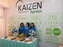 grand opening kaizen xpress ar hakim medan kaizen 10 minute haircut