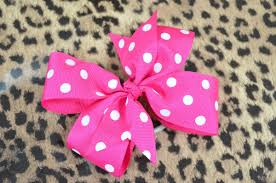 ribbon hair bow how to make a pinwheel hair bow