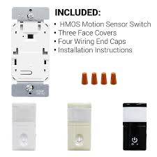 hmos j pir motion sensor light switch automatic occupancy infrared