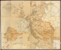 Map Of The Europe by Map Of The European Telegraph Network Rare U0026 Antique Maps