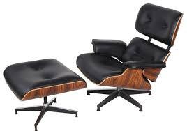 stylish mid century modern chair and ottoman mid century modern