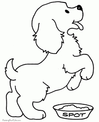 awesome printable puppy coloring pages regarding wish cool