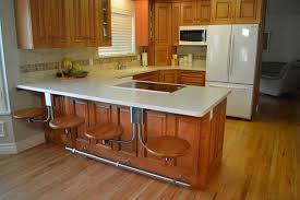 kitchen bar stool ideas bali solid oak bar stool in standard design with kitchen bar