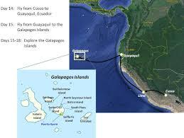 Galapagos Map Peru And Galapagos Itinerary And Maps Travel Tales Of Life