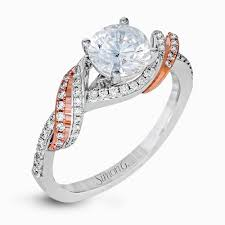 designer rings an exclusive design by simon g the dr353 engagement ring is a