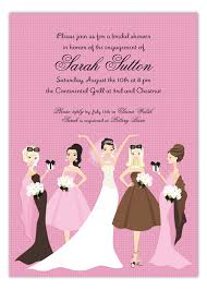 bridesmaids invite pink bridesmaids invitation polka dot design