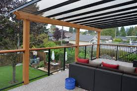 Glass Awning Design Deck Awning Ideas Doherty House How To Build Deck Awning