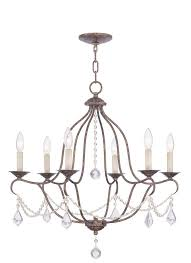 Swing From The Chandelier Livex Lighting 6426 71 Chesterfield Chandelier Amazon Com
