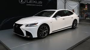lexus luxury van 2018 lexus ls 500 f sport is a more aggressive luxury sedan