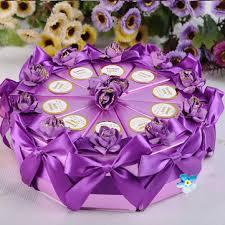 10pcs cake gift triangle box wedding cake sweet
