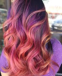 Red Hair Color With Highlights Pictures Purple Highlights For Brown Blonde And Red Hair U2013 Best Hair Color