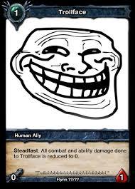 Vanity Card Trollface Vanity Card