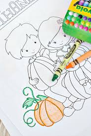 free thanksgiving coloring pages projects