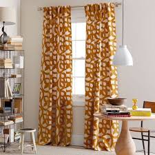 Orange Panel Curtains 66 Best Fabric Curtains Images On Pinterest Curtains Curtain