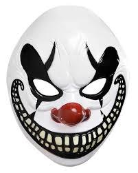 killer clown mask freakshow clown mask for horror shop