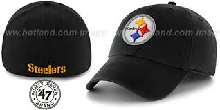 steelers nfl franchise black hat by 47 brand at hatland