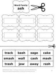 families sheets bundle 1st grade phonics worksheets speech therapy