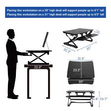 Where Can I Buy A Roll Top Desk Amazon Com Flexispot Standing Desk 35