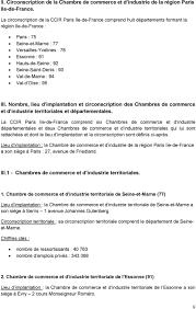 chambre de commerce et d industrie 92 schéma directeur du réseau des cci de ile de pdf