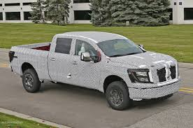 cummins truck 2016 nissan titan isv cummins turbo diesel teased ahead of detroit