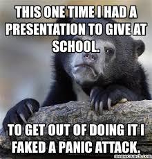 Panic Attack Meme - panic attack