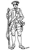pictures french indian war coloring pages